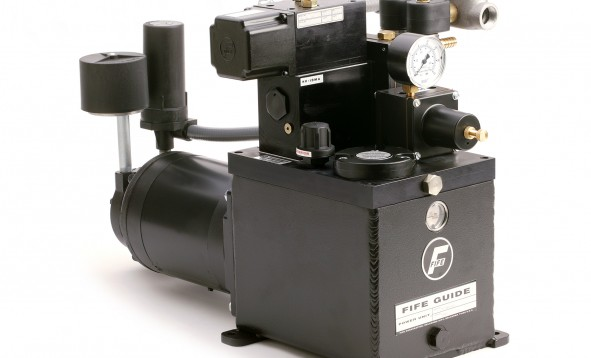 Fife power units provide superior response and control to keep your web in alignment